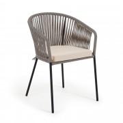 Kave Home Cadeira Yanet cinzento