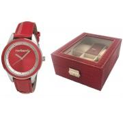 Ceas Red Monceau Cacharel Cutie de ceasuri si bijuterii Borealy