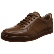 Clarks Men's Calderon Speed Tan Leather Clogs and Mules - 8 UK/India (42 EU)