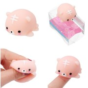 Tiger Squishy Squeeze Cute Healing Toy Kawaii Collection Stress Reliever Gift Decor With Packaging