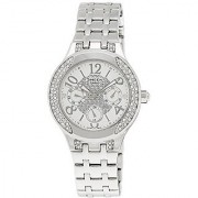 Casio Sheen Multi Function Analog White Dial Womens Watch - She-3803D-7Audr (Sx105)