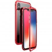 Funda para Iphone Xs Max Jyx Accesorios Magnética Bumper Aluminio - Rojo