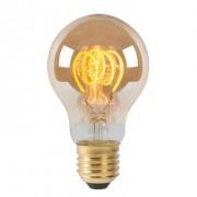 Lucide LED Bulb Filament lamp E27 5W - amber - 6 cm - Leen Bakker