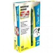 Papermate Replay premium penna cancellabile verde 0,7 mm confezione 12 penne