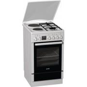 Готварска печка Gorenje K57306AW, Обем 59 л, Клас А, Бял