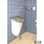 Beltéri, fali műanyag hulladékgyűjtő, szemetes lábpedálos 50 l 3786