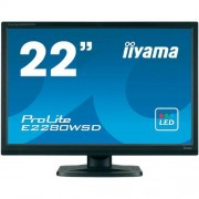 "Iiyama ProLite B2280WSD монитор, 22 "", черен"
