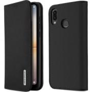 Husa telefon dux ducis DUX DUCIS Wish piele caz acoperire din piele Huawei P20 Lite negru universal