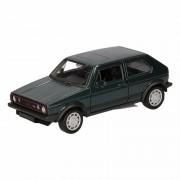 Volkswagen Speelgoed donkergroene Volkswagen Golf I GTI speelauto 12 cm