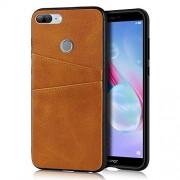 XIANYUNDIAN-PHONE CASE Exquisita caja del teléfono Compatible con Huawei Honor 9 Lite carpeta del cuero de casos, retro sintético PU Funda de piel cubierta a presión con 2, los titulares de Cubierta de cuero