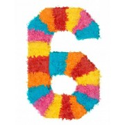 Piñata número 6 Única