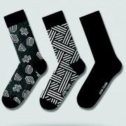 Pánske ponožky John Frank JF3LSMC01 - 3PACK