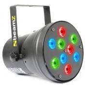 Beamz Par 36 Spot 9x 1W RGB LEDs (151.155)