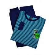 Best Feel chlapecké pyžamo BB8830 13-14 let světle modrá