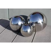 Edelstahlkugel Gartenkugel Dekokugel SferaInox 3er Set 15 / 20 / 25cm 10798
