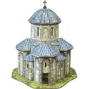 Clever Paper Series Churches. Puzzle 3D Cardboard. Kvetera Church, Georgia. Scale 1/87