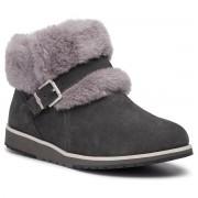 Обувки EMU AUSTRALIA - Oxley Fur Cuff W11698 Dark Grey