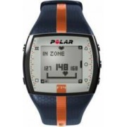 Ceas Sport Monitorizare Ritm Cardiac Polar FT4 Barbati Blue Orange