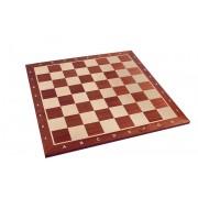 Tablă de șah din lemn de nuc, cu adnotare