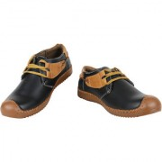 Yellow Tree Good Quality Casual Shoes Designer Black Shoes For Mens Boys ( 21109 )