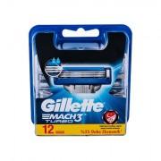 Gillette Mach3 Turbo náhradní břit 12 ks pro muže