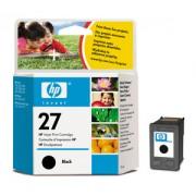 HP 27 Black Inkjet Print Cartridge, 10ml (C8727AE)