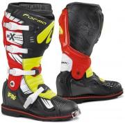Forma Terrain TX 2.0 Motocross Boots Black Red Yellow 47