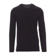 T Shirt Manica Lunga Pineta Payper Taglia L Nera 100% Cotone