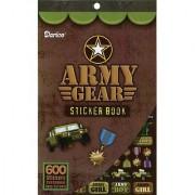 Sticker Book 9-1/2 X6 -Army Gear-600 Stickers