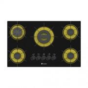 Cooktop Arena 5 Queimadores Bivolt Amarelo - Venax