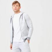 Myprotein Swift Zip-Up Hoodie - XS - Grey Marl