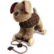 Little Bird Told Me Percy Pup Pull Along Baby Toy, One Size