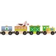 Trenulet de jucarie Janod My Story - Happy Farm