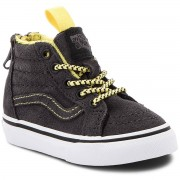 Vans Sneakersy VANS - Sk8-Hi Zip VN0A32R3U4H1 (Mte) Yellow/Grey