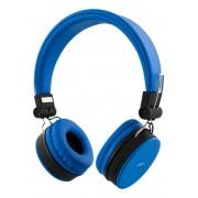 STREETZ HL-422 Draadloze opvouwbare Bluetooth On-ear hoofdtelefoon met microfoon en tot 22 uur speeltijd Blauw