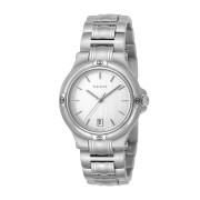 【48%OFF】ラウンド デイト ウォッチ メンズ フェイス:シルバー ベルト:シルバー ファッション > 腕時計~~メンズ 腕時計
