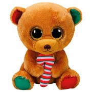 TY Peluche Bear with Candy Cane Bella 42cm