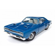 Auto World 1969 Dodge Coronet R/T 50th Anniversary, Blue - AMM1116 1/18 Scale Diecast Model Toy Car
