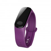 B18S ECG and PPG Blood Pressure Heart Rate Tracker Smart Bracelet with Color Screen for Android and iOS - Purple