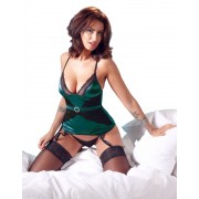 Body Corset Green Jade