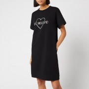Love Moschino Women's Logo T-Shirt Dress - Black - IT 38/UK 6 - Black