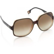 Boss Orange Over-sized Sunglasses(Brown)