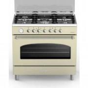 Cucina Bompani Bella Epoque BO684MB/N colore crema forno elettrico