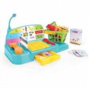 Casa de marcat de jucarie pentru copii cu accesorii - Micutul Casier