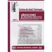Buletinul jurisprudentei 2011 - Drept civil. Dreptul familiei. Dreptul muncii - Curtea de apel Timisoara