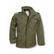 dzseki SURPLUS - US Fieldjacket - OLIVE - 20-3501-01