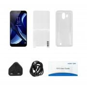 5,5 Pulgadas HOMTOM Smartphone S16 2GB+16GB Quad Core 3G Para Android 7.0 Negro Enchufe UK
