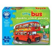 Puzzle fata verso Autobuz (12 piese) LITTLE BUS