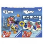 Puzzle si joc memory nemo 3 buc in cutie 253649 piese
