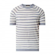 Windsor Regular Fit T-Shirt aus Leinen Modell 'Loan'